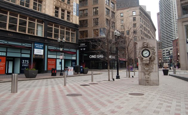Nobody in Downtown Crossing