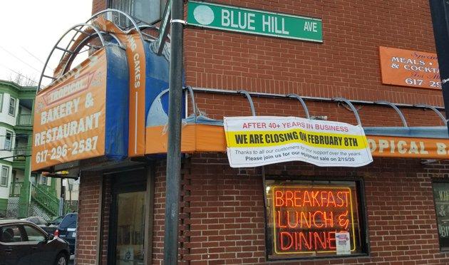 Lenny's Tropical Bakery on Blue Hill Avenue