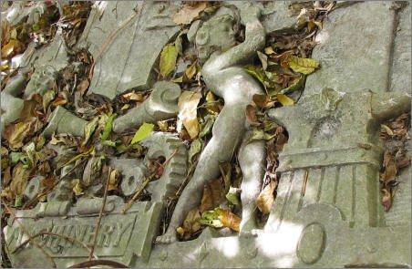 Old frieze at Millennium Park