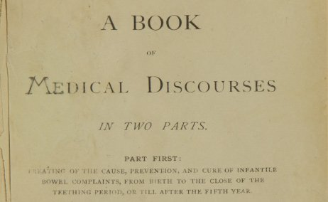Intro to A Book of Medical Discourses in Two Parts