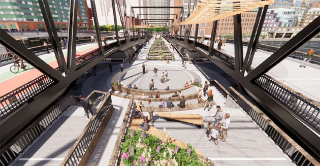 Proposed new Northern Avenue bridge