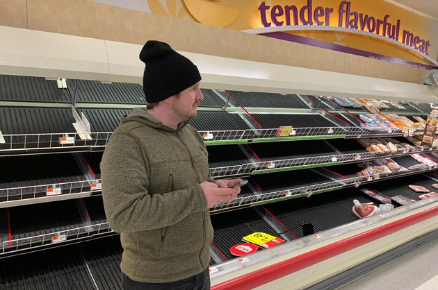 No meat at the Quincy Stop & Shop