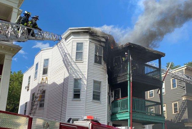 Park Street fire
