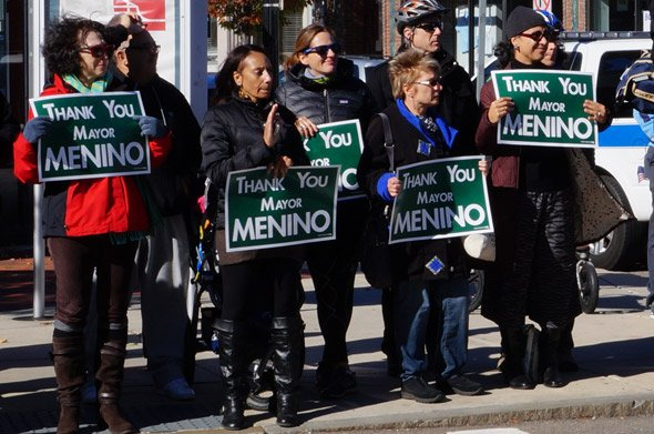 Roslindale says farewell to Tom Menino