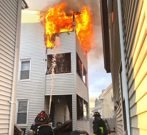 Readville Street fire