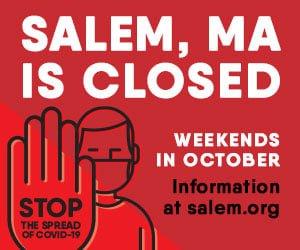 Salem is closed on weekends