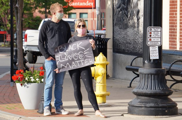 Dedham couple supports BLM