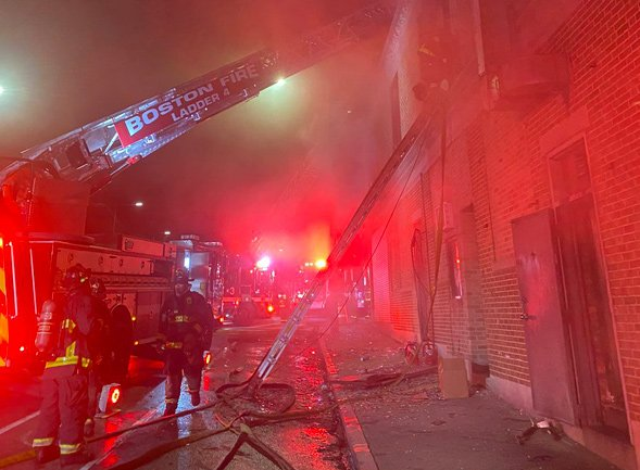 Warren Street fire