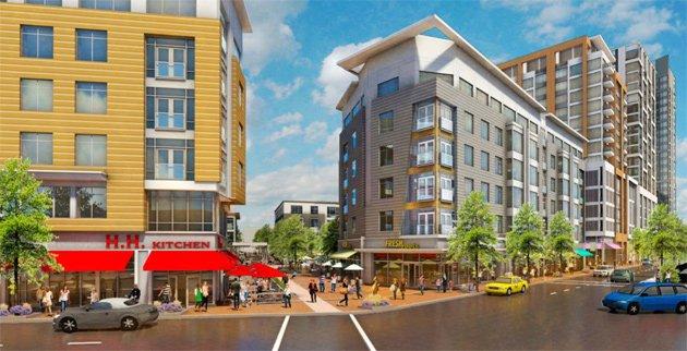Proposed Washington Village development near Andrew Square