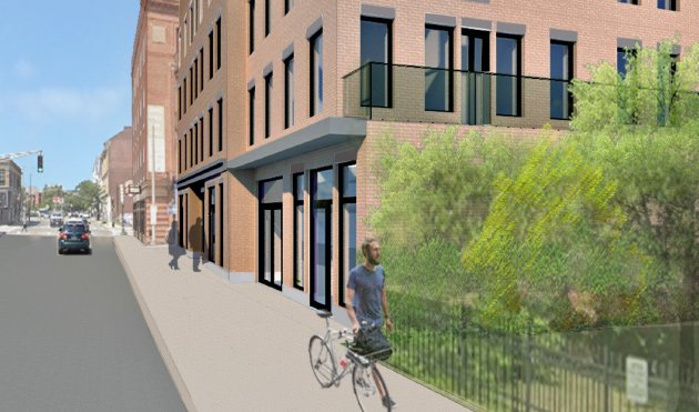 Rendering of 190 Dudley St.