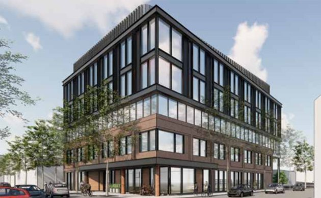Rendering of proposed 202 W. 1st Street