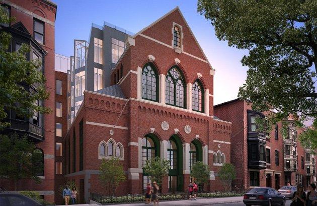 Proposed 25 Isabella Street condos