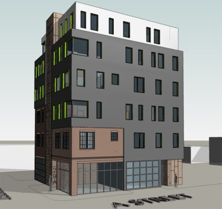 Rendering of proposed 29 A St.