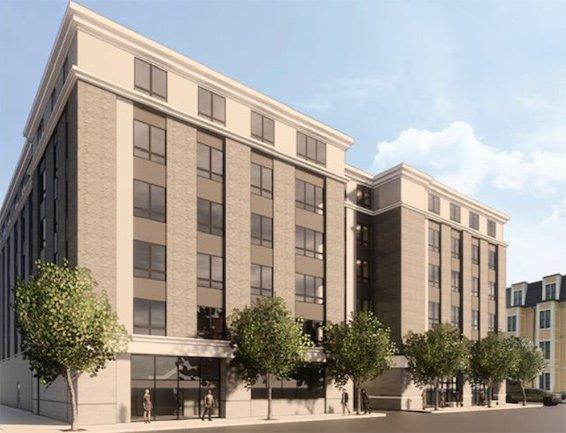 Rendering of proposed 34 B Street in South Boston