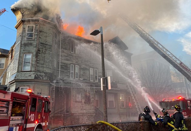 Fire at 48 Edgewood St.