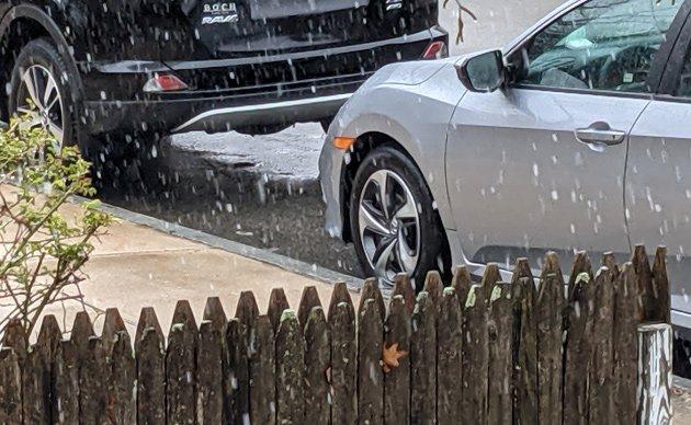 April snow in Roslindale