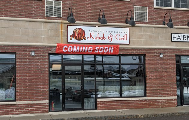 Atlas Kebab and Grill, coming soon