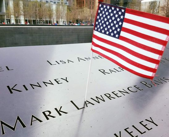 Mark Bavis remembered at World Trade Center