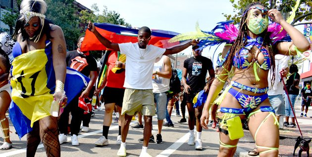 Cambridge carnival parade