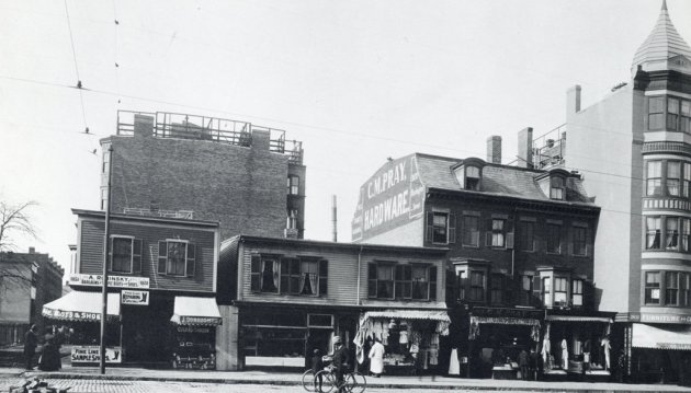 C.M. Pray hardware store in old Boston