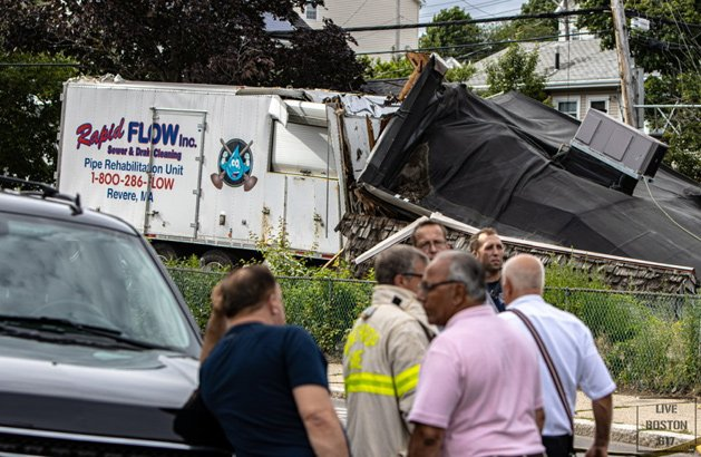 Stolen truck, destroyed house in Winthrop