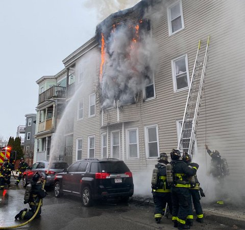 Crescent Avenue fire