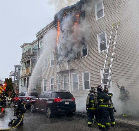 Crescent Avenue fire