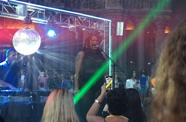 Donna Summer disco ball