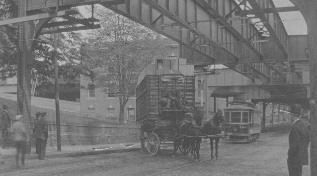 Storrowing in Roxbury in 1906
