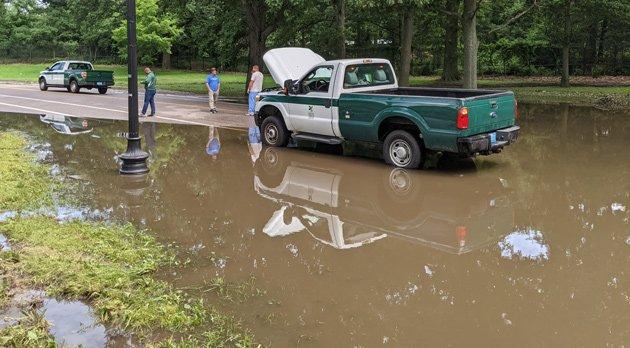 Franklin Park flood