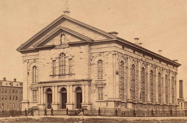 Church of the Immaculate Conception in the 19th century