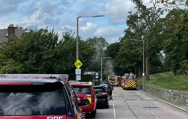 Firefighters respond to Lake Street