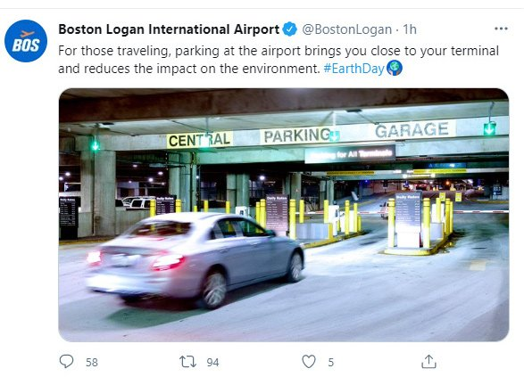 Logan parking tweet