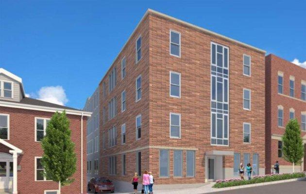 Rendering of proposed Magnolia Street building