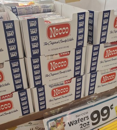 Lots of Necco wafers