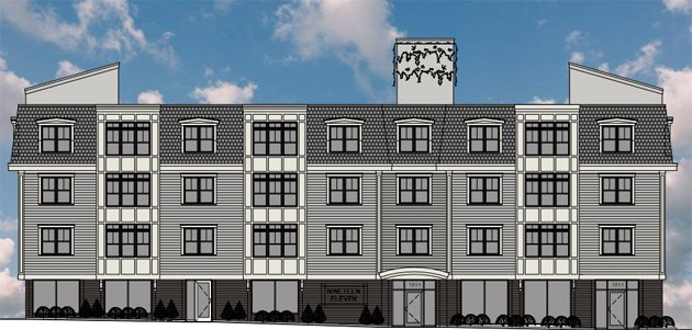 New rendering of Centre Street building