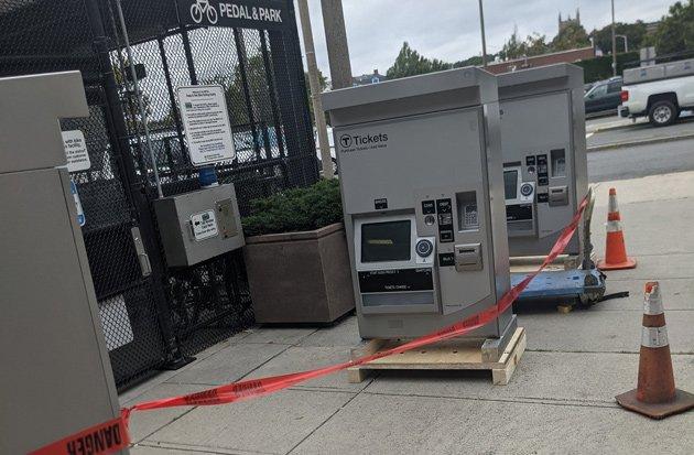New CharlieCard vending machines in Malden