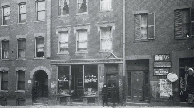 Block in old Boston