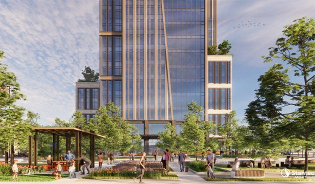 Rendering of Dorchester Avenue project in South Boston
