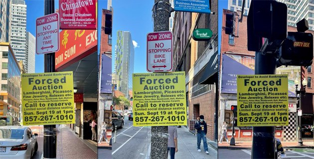 Stupid yellow signs in Chinatown