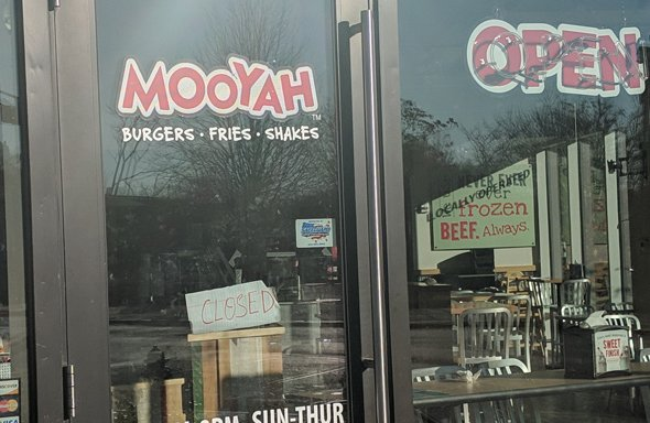 Mooyah closed