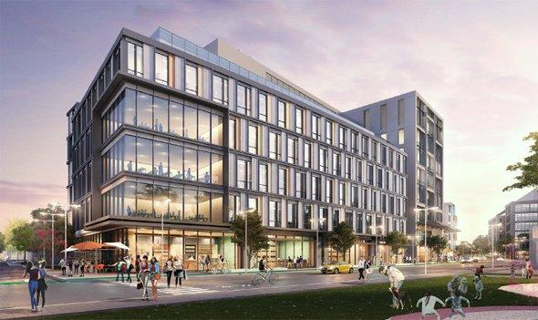 Proposed Nexus building in Allston