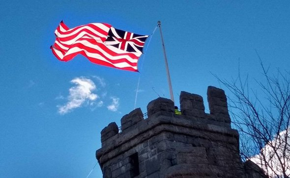 Flag raised in Somerville