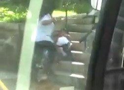 Punching MBTA driver