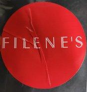 Old Filene's sticker