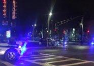 Columbus Avenue and Ritchie Street crime scene