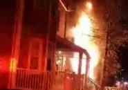 Fire at 60 Topliff St.