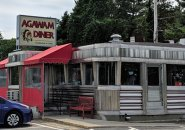 Agawam Diner in Rowley