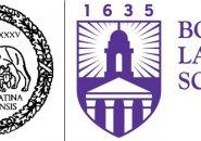Old and new Boston Latin School logos