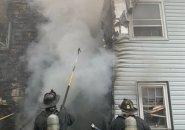 Fire on Bowdoin Street in Dorchester